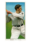 New York City, NY, New York Giants, Admiral Schlei, Baseball Card Posters by  Lantern Press