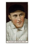 New York City, NY, New York Giants, Arthur Fletcher, Baseball Card Posters