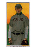 Chicago, IL, Chicago Cubs, Ed Reulbach, Baseball Card Art