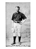 New York City, NY, New York Giants, John, Capt. Ward, Baseball Card Posters by  Lantern Press