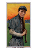 Chicago, IL, Chicago Cubs, Johnny Evers, Baseball Card Prints