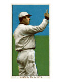 New York City, NY, New York Giants, John McGraw, Baseball Card Print