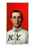 New York City, NY, New York Giants, Art Devlin, Baseball Card Print