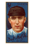 New York City, NY, New York Giants, Fred Merkle, Baseball Card Print