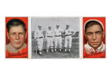 Chicago, IL, Chicago Cubs, Mordecai Brown, George F. Graham, Baseball Card Prints by  Lantern Press