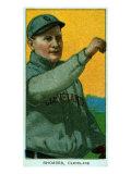 Cleveland, OH, Cleveland Naps, Rhoades, Baseball Card Print