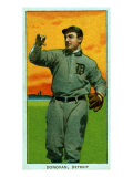 Detroit, MI, Detroit Tigers, Wild Bill Donovan, Baseball Card Print by  Lantern Press