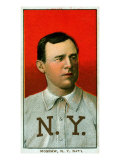 New York City, NY, New York Giants, John McGraw, Baseball Card Poster