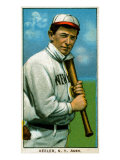 New York City, NY, New York Highlanders, Willie Keeler, Baseball Card Poster