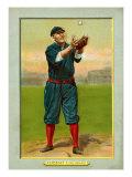 Cincinnati, OH, Cincinnati Reds, Hans Lobert, Baseball Card Poster