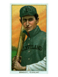 Cleveland, OH, Cleveland Naps, Bill Bradley, Baseball Card Poster by  Lantern Press