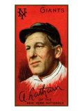 New York City, NY, New York Giants, Arlie Latham, Baseball Card Posters by  Lantern Press