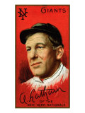 New York City, NY, New York Giants, Arlie Latham, Baseball Card Art