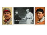 New York City, NY, New York Giants, Roger Bresnahan, John J. McGraw, Baseball Card Posters