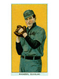 Cleveland, OH, Cleveland Naps, Rhoades, Baseball Card Posters