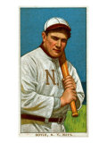 New York City, NY, New York Giants, Larry Doyle, Baseball Card Poster