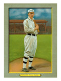 Philadelphia, PA, Philadelphia Athletics, Eddie Collins, Baseball Card Poster by  Lantern Press