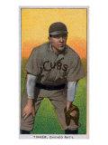 Chicago, IL, Chicago Cubs, Joe Tinker, Baseball Card Prints by  Lantern Press