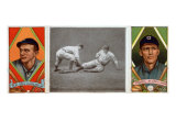 Cleveland, OH, Cleveland Naps, Neal Ball, George T. Stovall, Baseball Card Poster