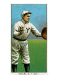 New York City, NY, New York Giants, Admiral Schlei, Baseball Card Print