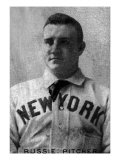 New York City, NY, New York Giants, Russie, Baseball Card Print