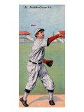 Chicago, IL, Chicago Cubs, Mordecai Brown, Baseball Card Prints by  Lantern Press