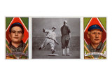 Cleveland, OH, Cleveland Naps, Jos. Birmingham, Terence Turner, Baseball Card Print