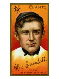 New York City, NY, New York Giants, Otis Crandall, Baseball Card Posters by  Lantern Press