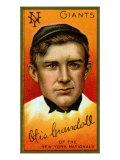 New York City, NY, New York Giants, Otis Crandall, Baseball Card Posters