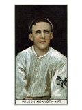 New York City, NY, New York Giants, Arthur Wilson, Baseball Card Posters