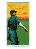 Cincinnati, OH, Cincinnati Reds, Bob Ewing, Baseball Card Posters by  Lantern Press
