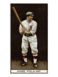 Philadelphia, PA, Philadelphia Phillies, Otto Knabe, Baseball Card Posters by  Lantern Press