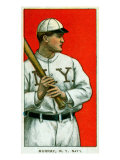 New York City, NY, New York Giants, Red Murray, Baseball Card Posters by  Lantern Press