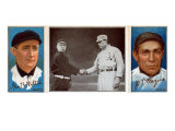 New York City, NY, New York Giants, George Wiltse, John T. Meyers, Baseball Card Posters by  Lantern Press