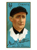 New York City, NY, New York Giants, George Wiltse, Baseball Card Posters