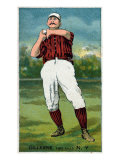 New York City, NY, New York Giants, Pete Gillespie, Baseball Card Posters