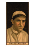 Chicago, IL, Chicago White Sox, Harry Lord, Baseball Card Prints