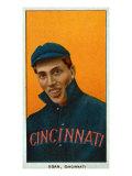 Cincinnati, OH, Cincinnati Reds, Dick Egan, Baseball Card Posters by  Lantern Press