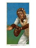 New York City, NY, New York Giants, Fred Snodgrass, Baseball Card Poster