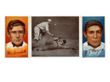New York City, NY, New York Giants, Otis Crandall, John T. Meyers, Baseball Card Poster by  Lantern Press