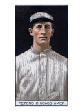 Chicago, IL, Chicago White Sox, O. C. Peters, Baseball Card Poster