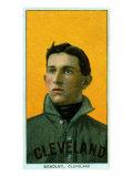 Cleveland, OH, Cleveland Naps, Bill Bradley, Baseball Card Poster