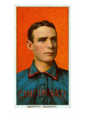 Cincinnati, OH, Cincinnati Reds, Clark Griffith, Baseball Card Poster by  Lantern Press