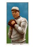 New York City, NY, New York Giants, Red Ames, Baseball Card Print