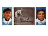 New York City, NY, New York Giants, George Wiltse, John T. Meyers, Baseball Card Print by  Lantern Press