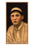 Chicago, IL, Chicago White Sox, Leoford Tannehill, Baseball Card Print