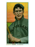 Cleveland, OH, Cleveland Naps, Nap Lajoie, Baseball Card Print