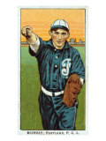 Portland, OR, Portland Pacific Coast League, Murray, Baseball Card Poster by  Lantern Press