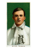 Rochester, NY, Rochester Minor League, John Butler, Baseball Card Poster by  Lantern Press