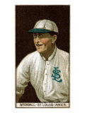 St. Louis, MO, St. Louis Browns, George Stovall, Baseball Card Poster
